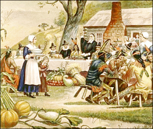 Thanksgiiving Day - First_Thanksgiving_in_America